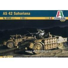 Italeri – 1/35 Carro AS 42 Sahariana - Decals incluse - Item 6530