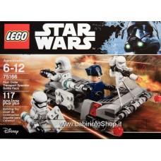 Lego -  Star Wars - First Order Transport Speeder Battle Pack 75166