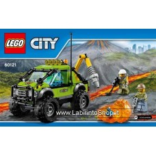 Lego - City - Volcano Exploration Truck 60121