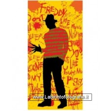 A Nightmare On elm Street Freddy Beach Towel