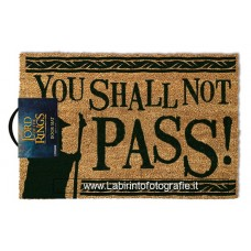 Lord of the Rings Doormat You Shall Not Pass