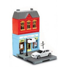 RMZ City European House with Die Cast Vehicle: BMW M5 1:64