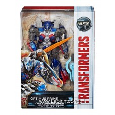 Transformers The Last Knight Premier Edition Voyager Action Figures 15 cm Optimus Prime