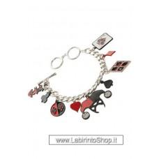 DC Comics Charm Bracelet Harley Quinn