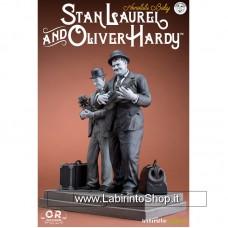 Laurel & Hardy (Stanlio & Ollio) Old and Rare Statua