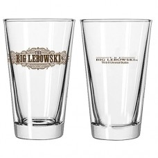 Big Lebowski Pint Glass