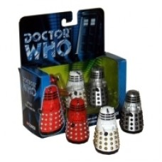 Corgi Dalek Trio Box Set with White Dalek
