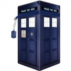 Doctor Who Tardis shaped Pencil Case