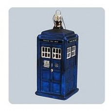 Doctor Who 4 1 4-Inch TARDIS Figural Ornament