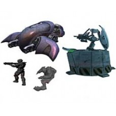 Halo Micro Ops Series 1 Small Carded Mini-Figures ghost vs wolf spider
