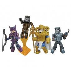 Marvel Minimates Fear Itself Mighty Box Set (spiderman iron man hawkeye odin)