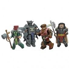 Marvel Minimates Fear Itself Worthy Box Set (skdi the serpent angrir mokk)