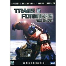 THE TRANSFORMERS - THE MOVIE DVD