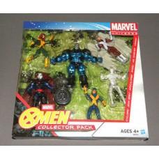 Marvel X-MEN Collector Pack w Cyclops, Jean Grey, Apocalypse, Angel, Iceman