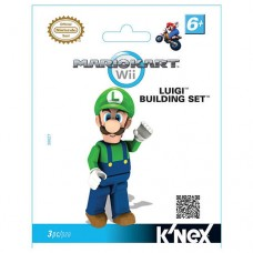 Mario Kart Wii Minifigure Luigi Building Set K'nex