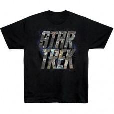 Star Trek Movie Character Logo T-Shirt taglia XL