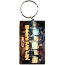 Star Trek (Beam Me Up!) Metal Keyring