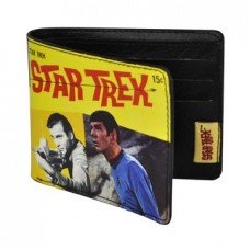 Star Trek (Retro Kirk & Spock) Bi-PVC Wallet