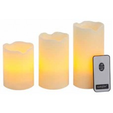 candele elettriche con telecomando