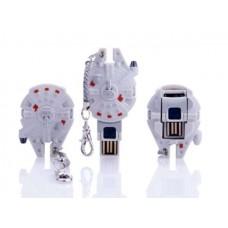 MIMOBOT MIMOMICRO USB DRIVE & READER -MILLENNIUM FALCON- con MICRO SD da 4gb