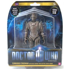 Doctor Who Figure Corroded Cyberman with chest Damage & Electric Shock Hands New