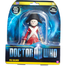 Doctor Who - Peg Soldier figure