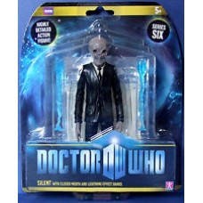 Doctor Who - Closed Mouth Silent Action Figures
