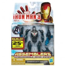 Marvel Iron Man 3 Avengers Initiative Assemblers Hypervelocity Iron Man Figure