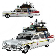 Ghostbusters 2 Ecto-1A Hot Wheels Elite 1 18 Scale Vehicle