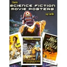 Classic Science Fiction Movie Posters: 24 Cards