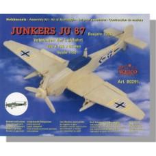 Junkers JU 87 1:50 in legno da montare