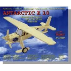 Aereo antartic x 10 di legno da montare
