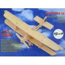 Aereo junkers ji in legno da montare