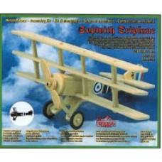 Aereo Sopwith triplane in legno da montare