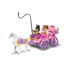 Sluban - girl's dream The prinsess carriage