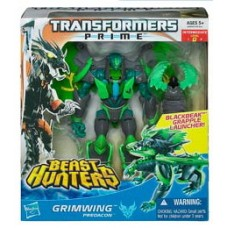 Transformers Prime Beast Hunter Voyager Figures Grimwing