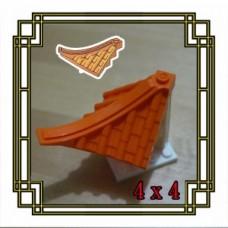 Brick Flat 1x2x1/3 set di 10