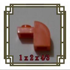 Brick Corner Hole 1x2x4/3