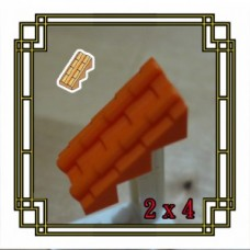 Brick Roof 2x4