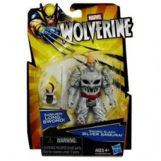 Marvel Wolverine Sword Slash Silver Samurai Figure