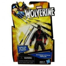Marvel Wolverine Shadow Strike Ninja Figure