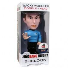 Star Trek Big Bang Theory Sheldon Bobble Head