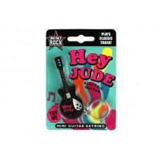 The Beatles Hey Jude - Mini Guitar Keyring