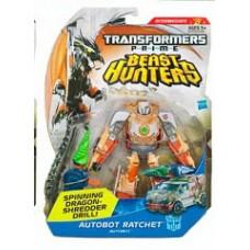 Transformers Prime Beast Hunter Deluxe autobot ratchet