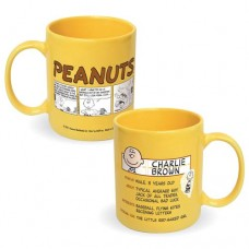 Peanuts Charlie Brown Profile Ceramic Mug