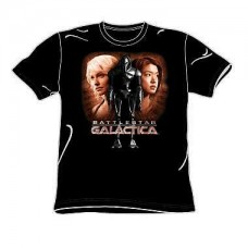 Battlestar Galactica Created By Man T-Shirt
