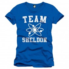 Big Bang Theory - The Team Sheldon T-Shirt Uomo