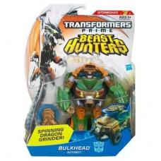 Transformers Beast Hunters Deluxe Class Bulkhead Figure