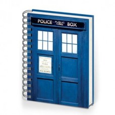 DOCTOR WHO TARDIS HARDCOVER RINGBOUND A5 NOTEBOOK