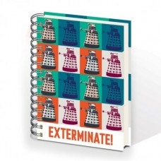 DOCTOR WHO EXTERMINATE HARDCOVER RINGBOUND A5 NOTEBOOK